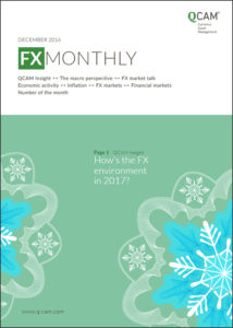 How's the FX environment in 2017?