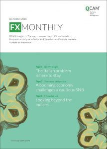 FX Monthly October 2018 - The Italian problem is here to stay