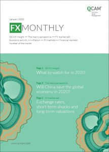 What to watch for in 2020 / Will China save the global economy in 2020? / Exchange rates, short-term shocks and long-term valuations